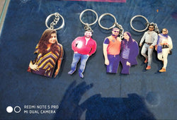 Soshacreations Personalized Photo Keychain