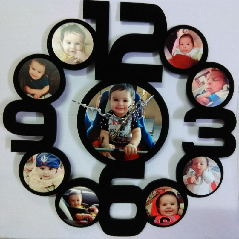Sosha Clock Photo Frame 2 - Sosha