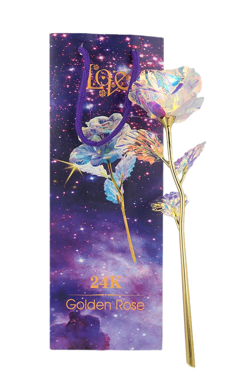 Sosha Gold LED Rose
