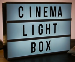 Sosha Creations Retro Style Cinema Theatre Board