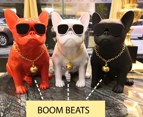 Boom Beats French Bulldog Speakers