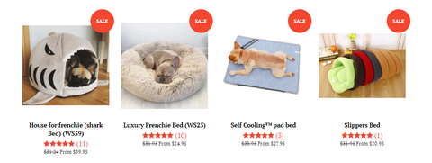 French Bulldog Beds Collection