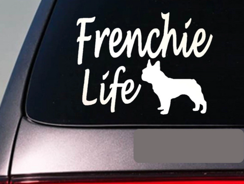 Frenchie Life - Frenchie Stickers for cars