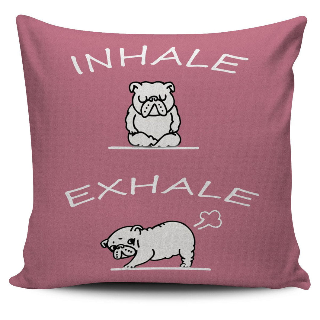 Inhale Exhale Pillow