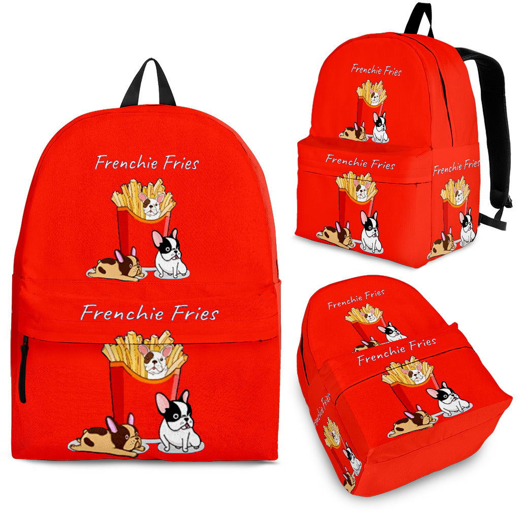Frenchie Fries - French Bulldog Backpack - Frenchie Bulldog Shop