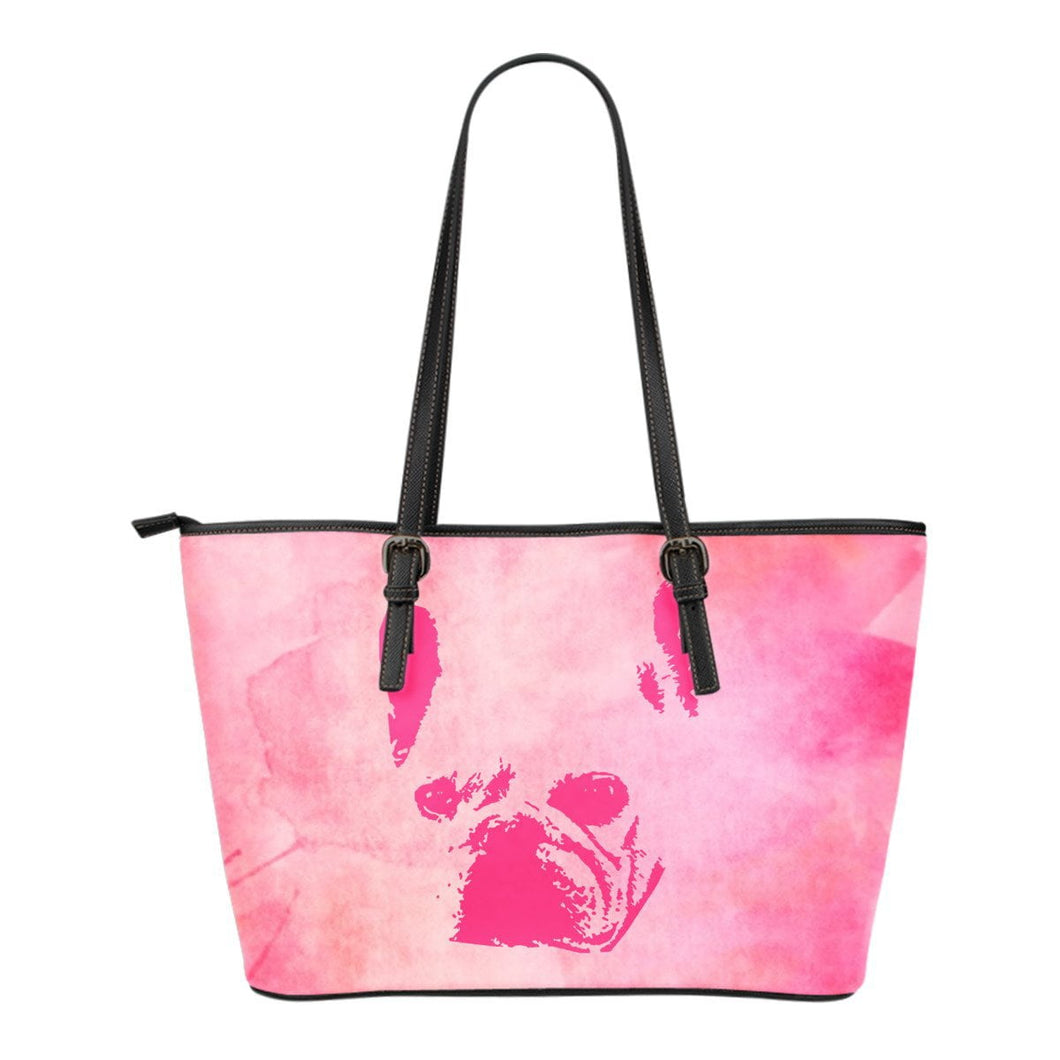 French Bulldog Pink Style Silhouette