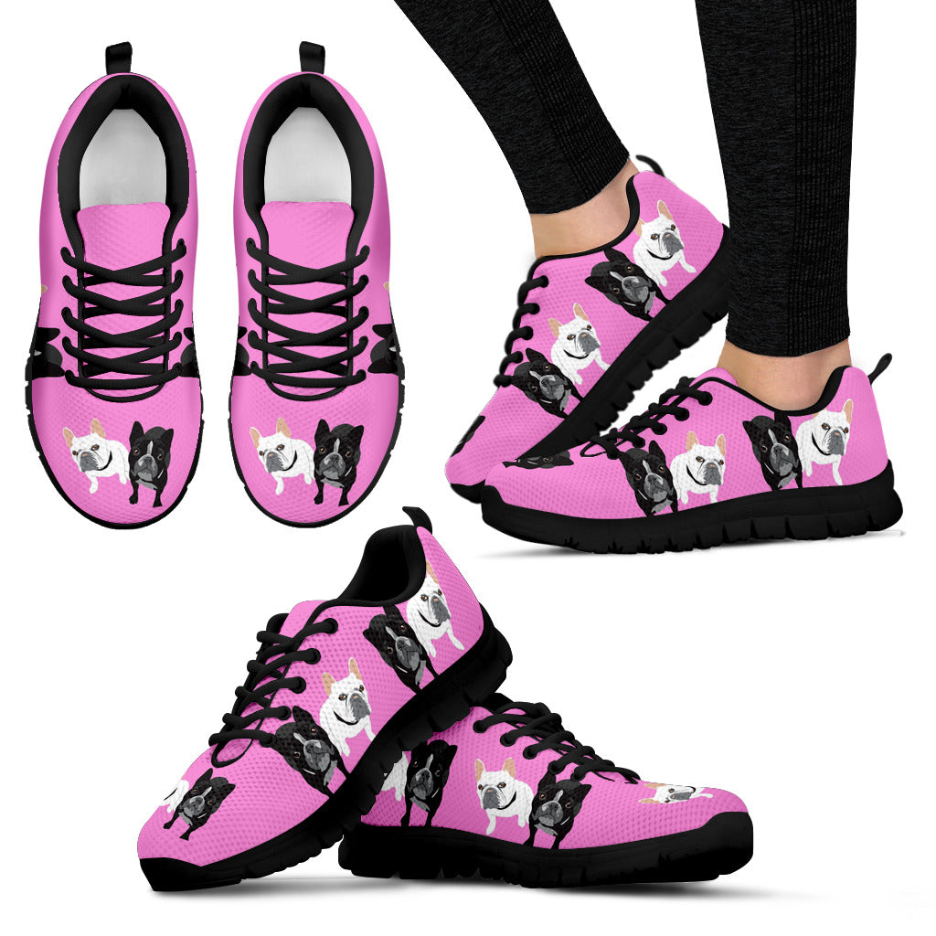 Frenchie Brothers - French Bulldog Women Sneakers - frenchie Shop