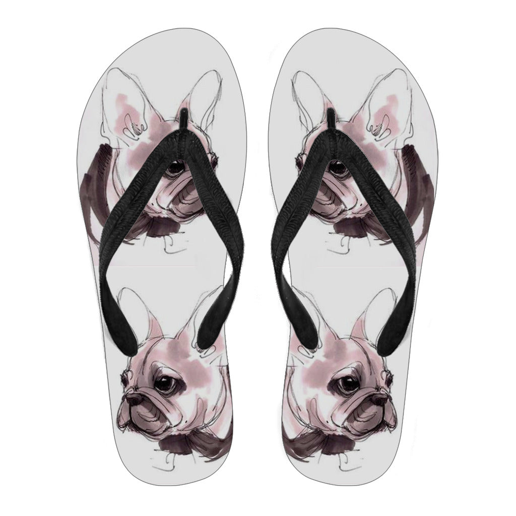 Bailey - Flip Flops - Frenchie Bulldog Shop