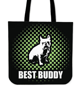 French Bulldog Best Buddy Black and Green Spot