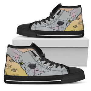High Top Shoe - My Frenchie - Black