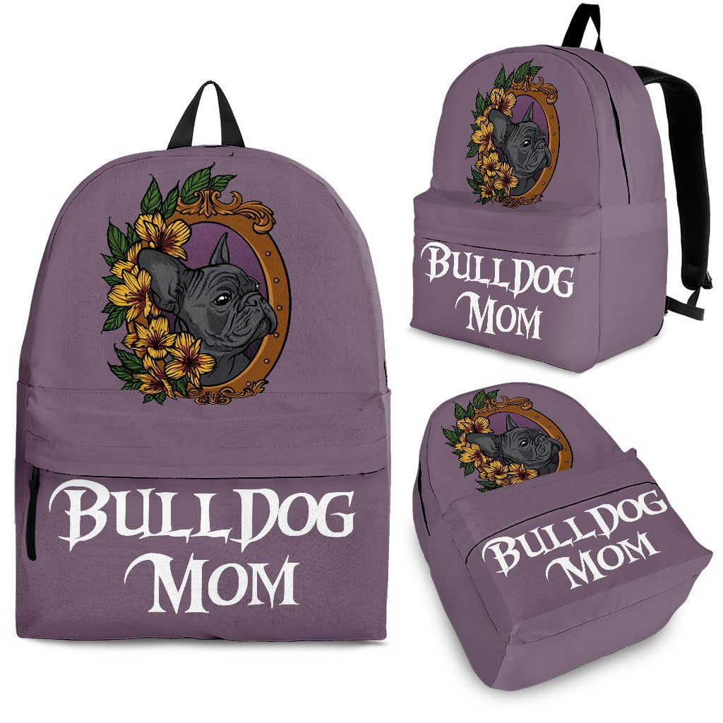 Bulldog Mom - Backpack - Frenchie Bulldog Shop