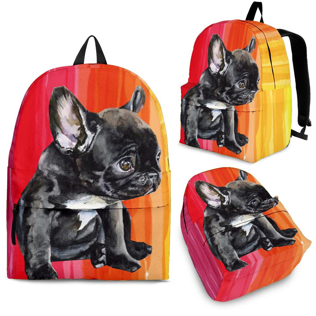 Black Frenchie - French Bulldog Backpack - Frenchie Bulldog Shop