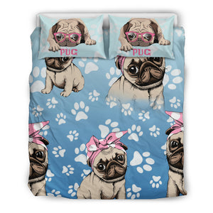 Pug Love Bedding Set - Frenchie Bulldog Shop