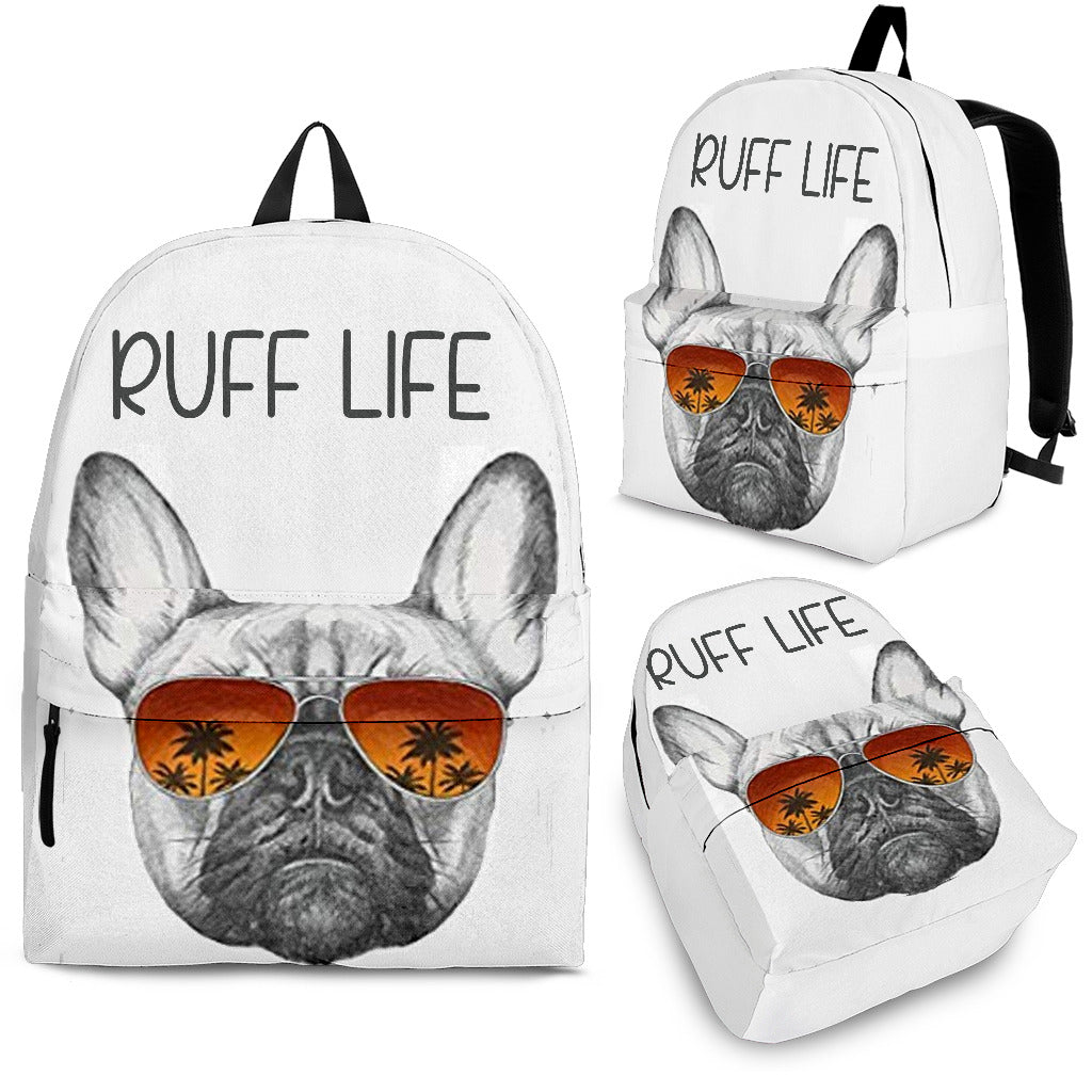 Ruff Life Frenchie - French Bulldog Backpack - Frenchie Bulldog Shop