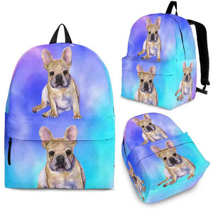 Brown Frenchie - Backpack - Frenchie Bulldog Shop