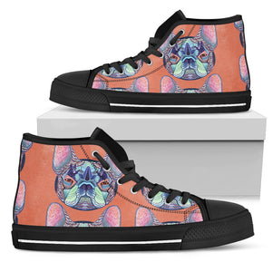 High Top Shoe - My French Bulldog