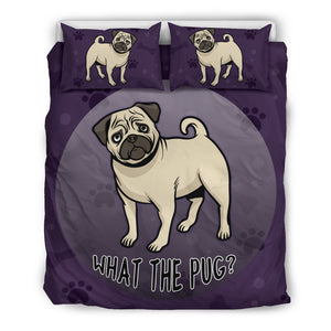 What The Pug Bedding Set - Frenchie Bulldog Shop