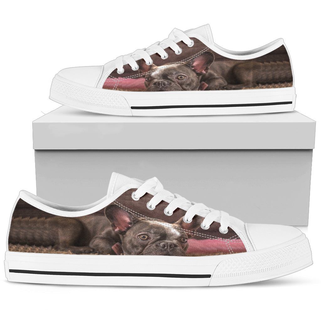Custom Low Top Shoes - frenchie Shop