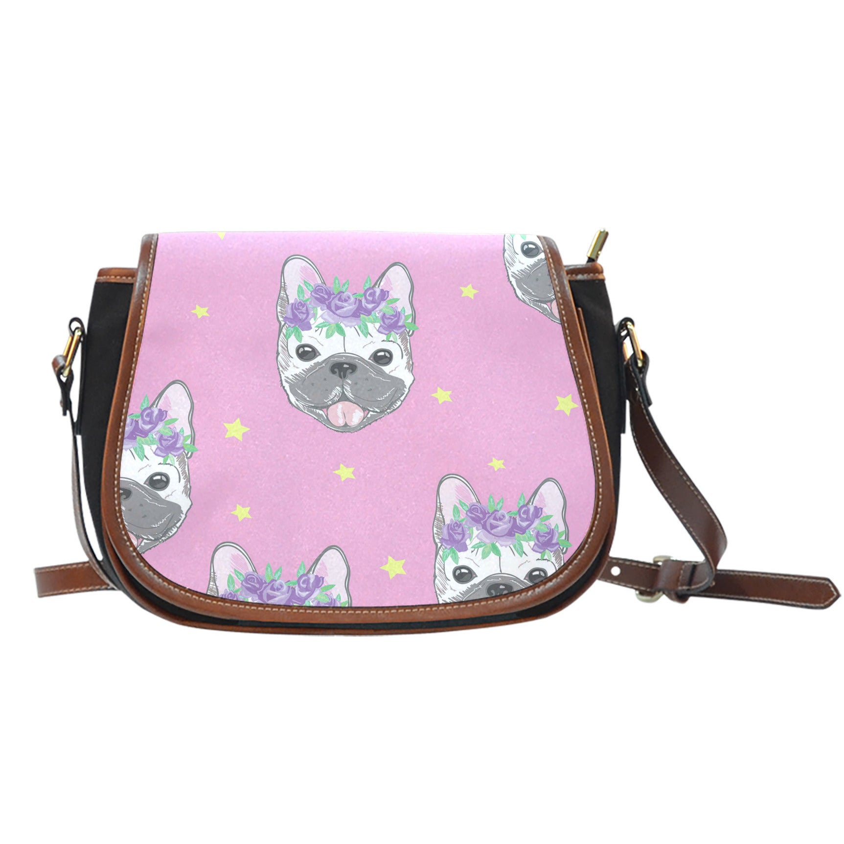 Happy Frenchie - French Bulldog Saddle Bag - frenchie Shop