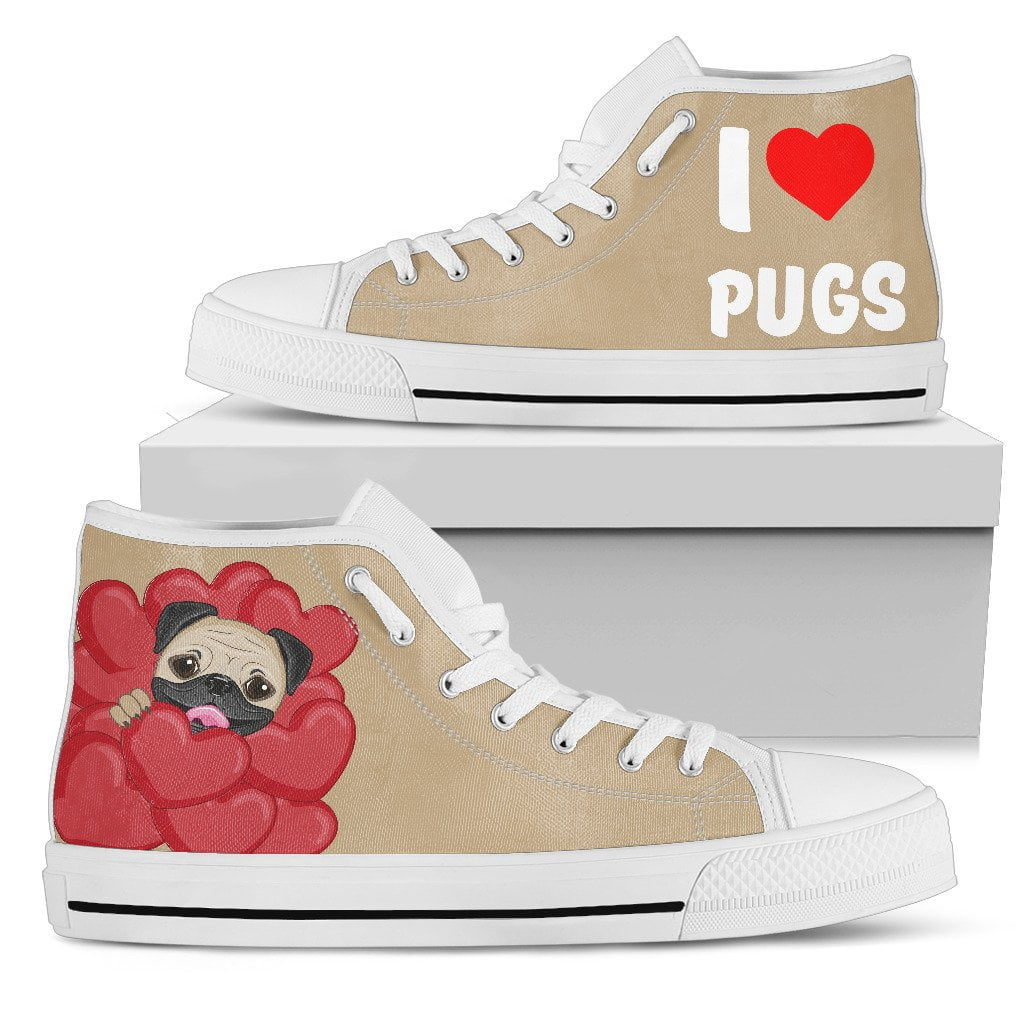 I love Pugs - Frenchie Bulldog Shop