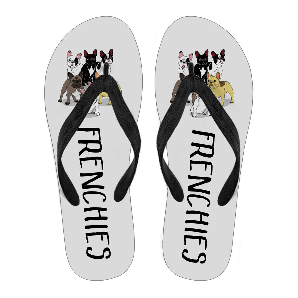 Frenchies Squad - Flip Flops - frenchie Shop