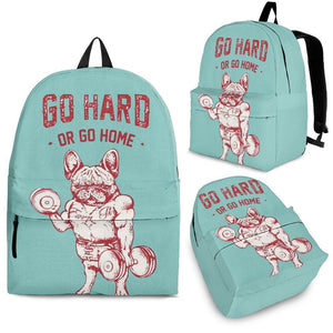 Go Hard Or Go Home - Backpack