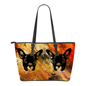 French Bulldog Silhouette Colorful - frenchie Shop