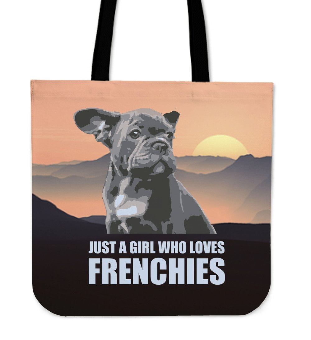 French Bulldog Puppy Just Girl Loves Frenchies - frenchie Shop