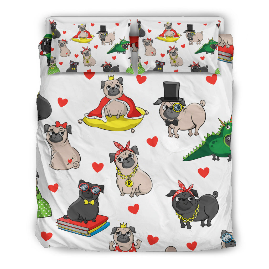 My Pugs Bedding Set - frenchie Shop