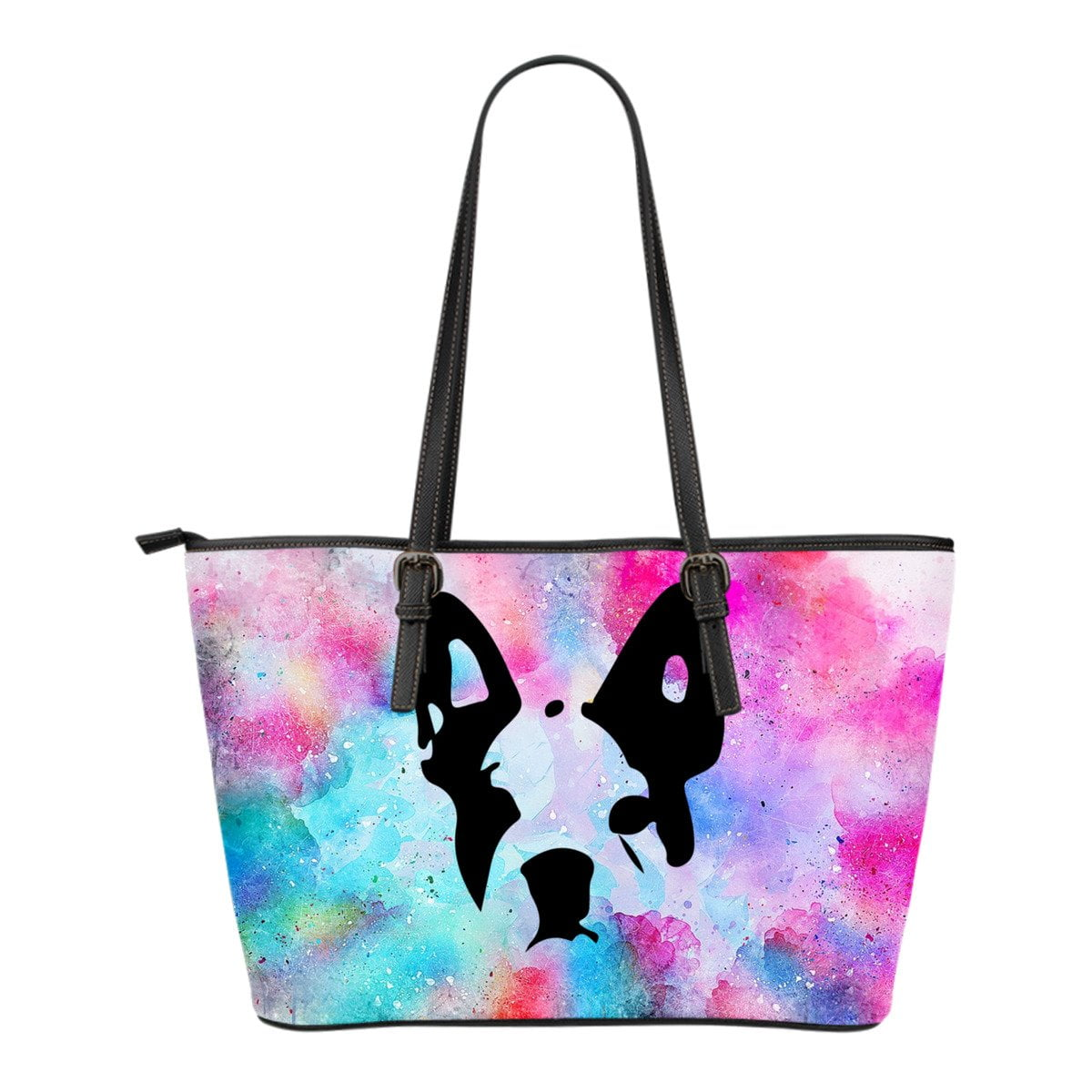 French Bulldog Painting Head Silhouette - frenchie Shop
