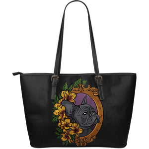 Frenchie Fashion - Leather Tote Bag - frenchie Shop