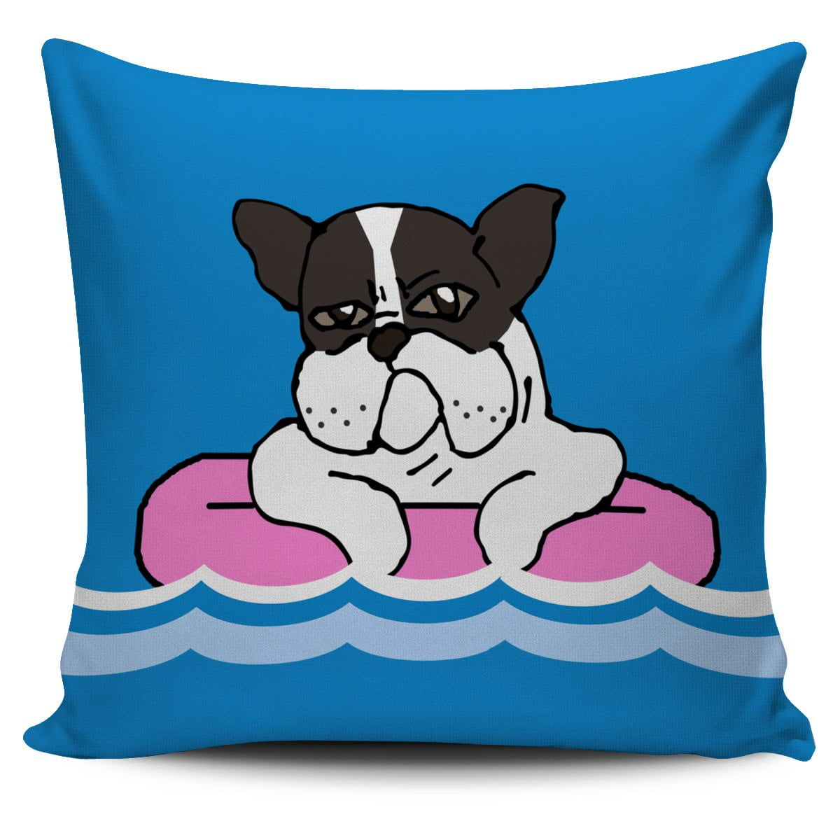French Bulldog in the Sea Summer - frenchie Shop