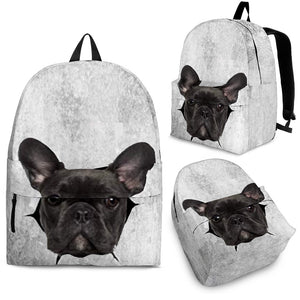 Breaking Frenchie - French Bulldog Backpack - Frenchie Bulldog Shop