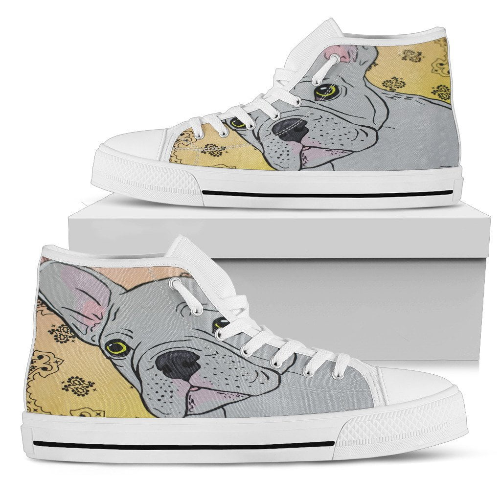 High Top Shoe - My Frenchie - Black - frenchie Shop