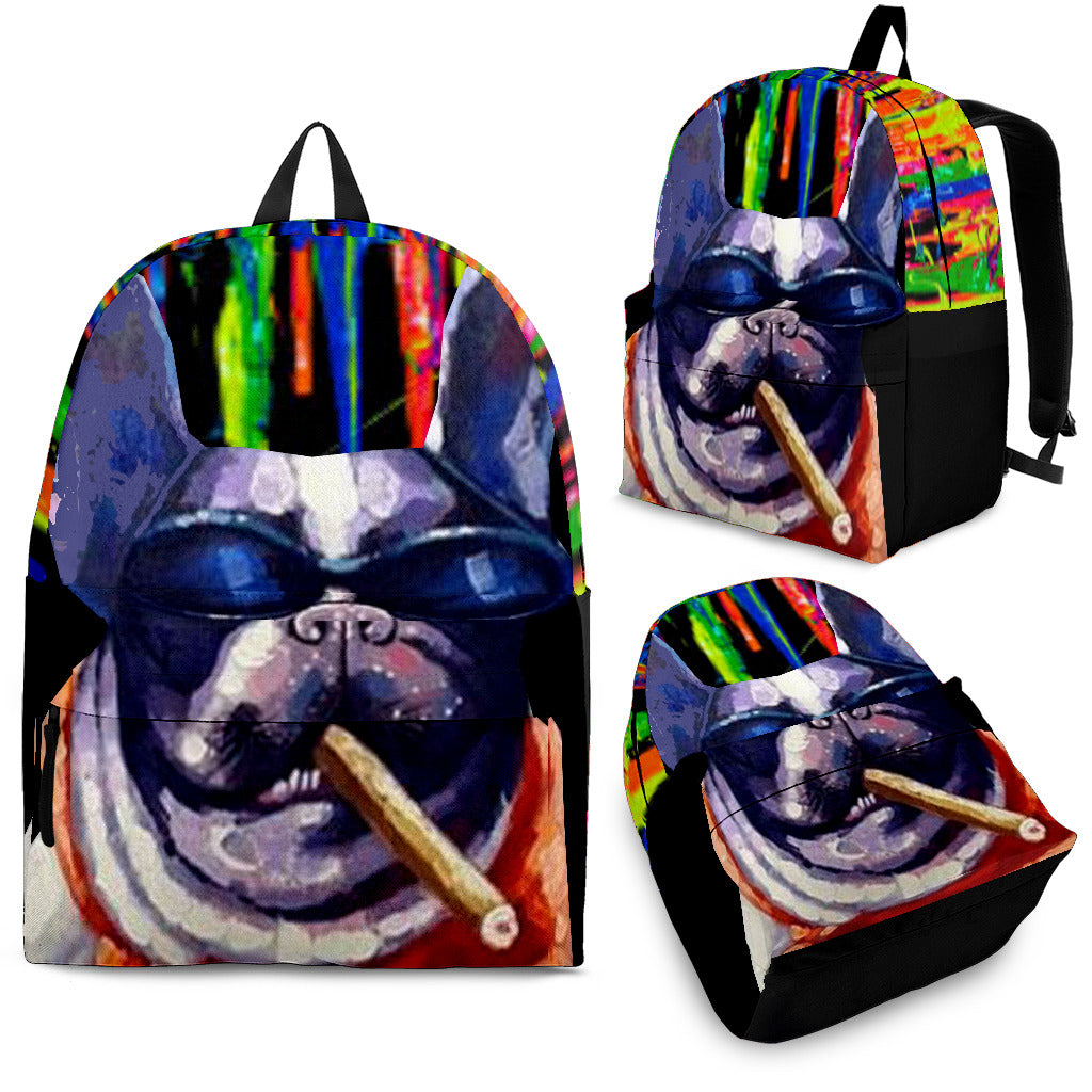 Cool Frenchie - French Bulldog Backpack - Frenchie Bulldog Shop