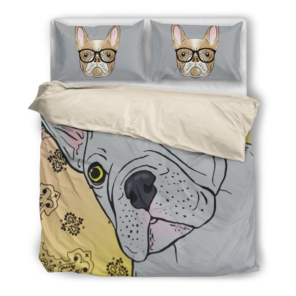 The frenchie Bedding Set - Frenchie Bulldog Shop