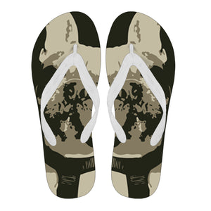 Frenchie Half Face -  Flip Flop - frenchie Shop