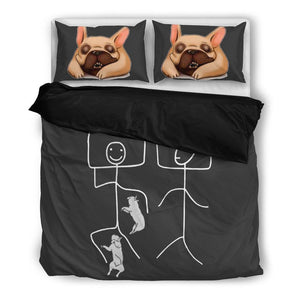 Bedding Set - Sleeps with Frenchie - frenchie Shop
