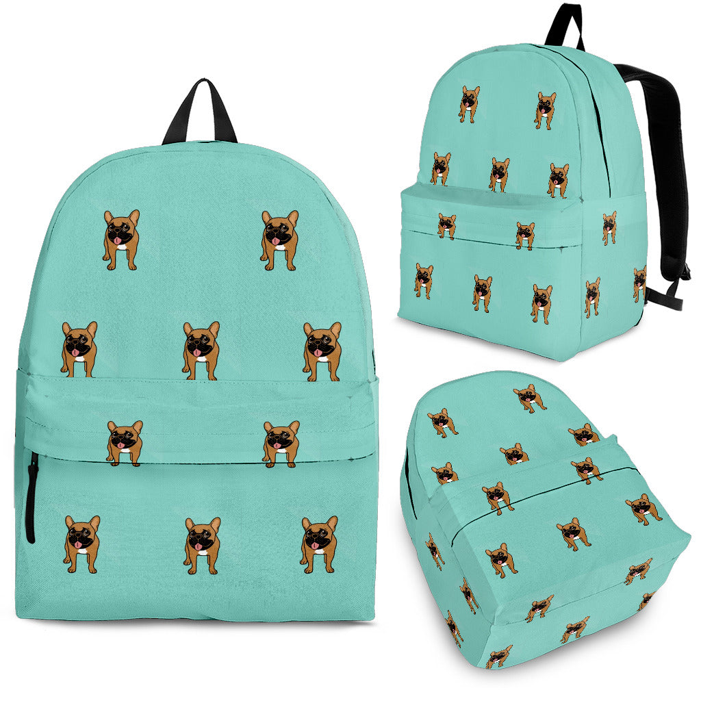 Brown Frenchie - French Bulldog Backpack - Frenchie Bulldog Shop