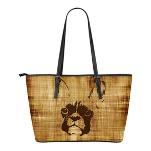 French Bulldog Brown Silhouette Style - frenchie Shop