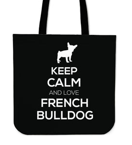 French Bulldog Keep Calm and Love French Bulldog - frenchie Shop
