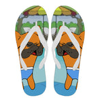 Frenchie Summer -  Flip Flop - frenchie Shop