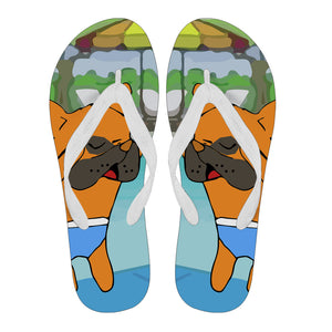 Frenchie Summer -  Flip Flop
