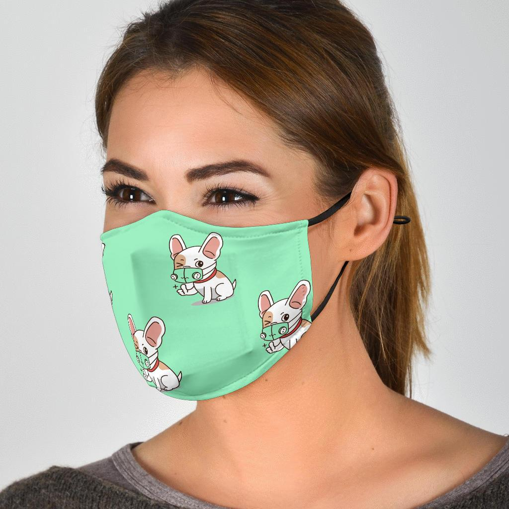 Wink Wink - Fashion Face Mask - Frenchie Bulldog Shop