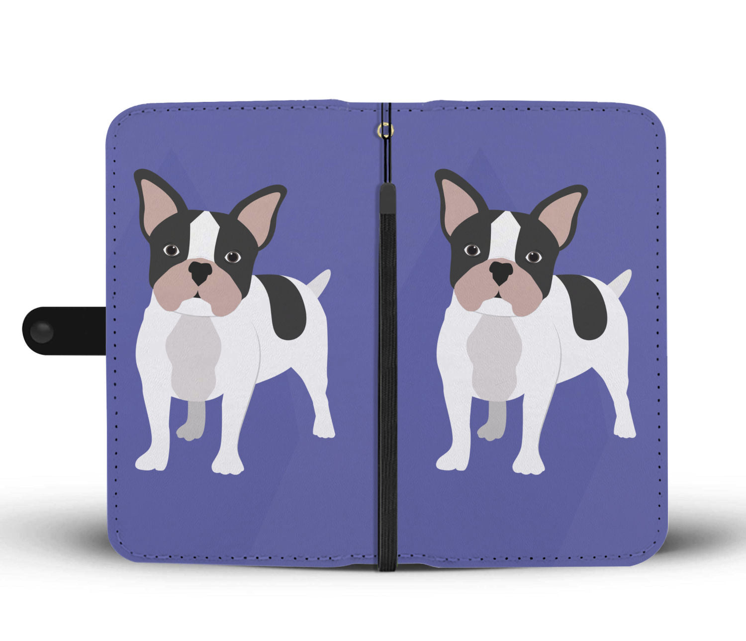 Lovely Frenchie - Wallet Case - Frenchie Bulldog Shop