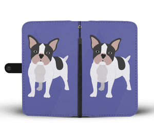 Lovely Frenchie - Wallet Case
