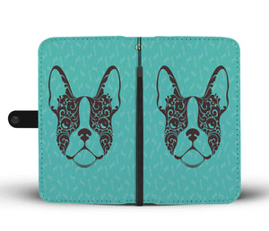 Frenchie Face - Wallet Case
