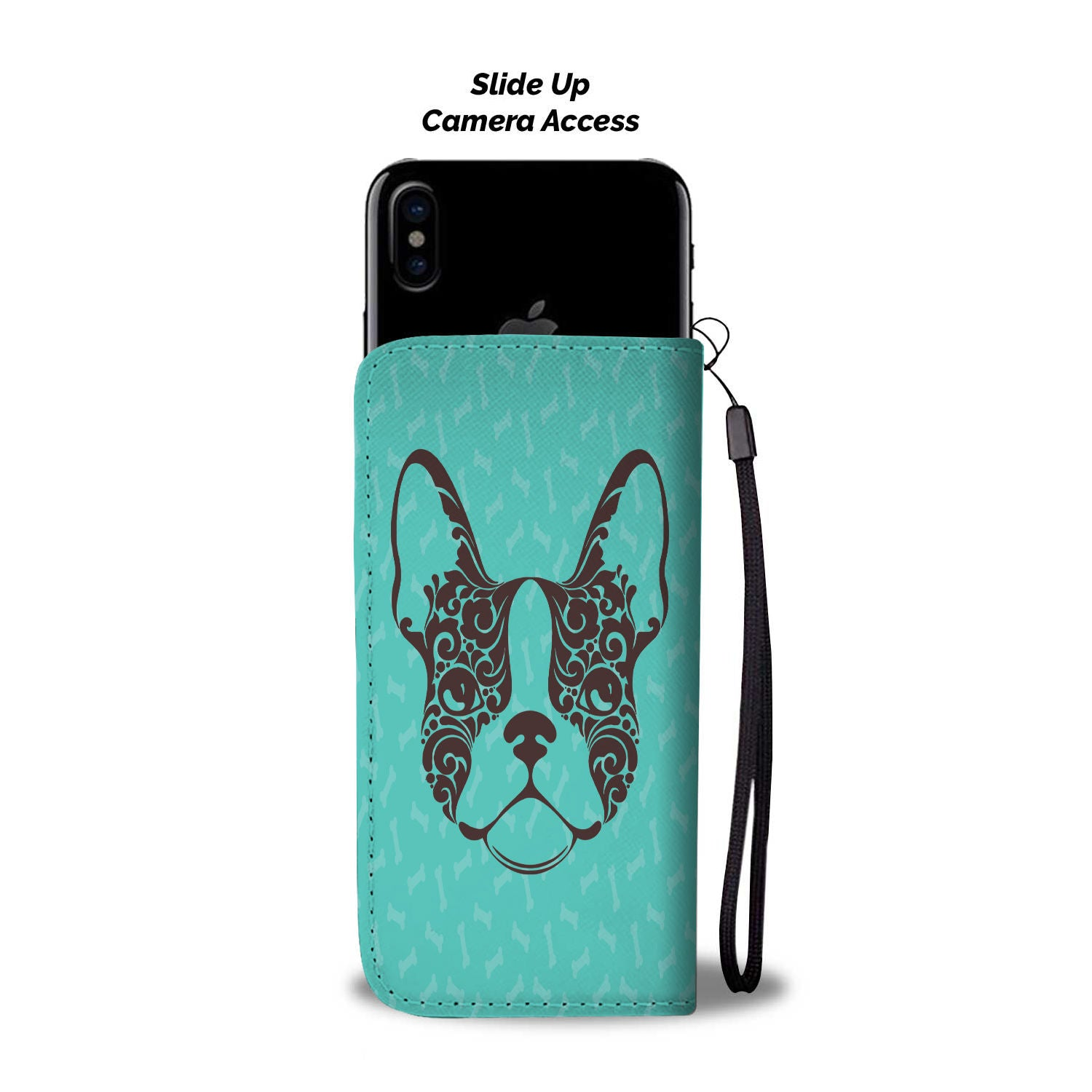 Frenchie Face - Wallet Case - frenchie Shop