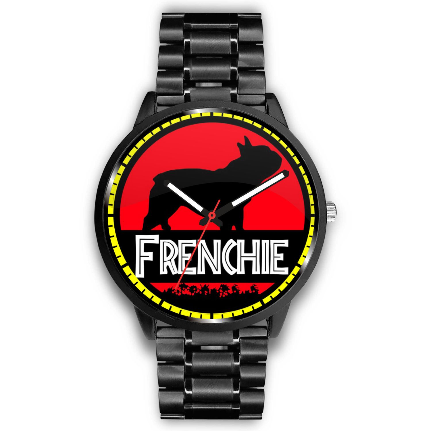 Black Frenchie - Watch - Frenchie Bulldog Shop