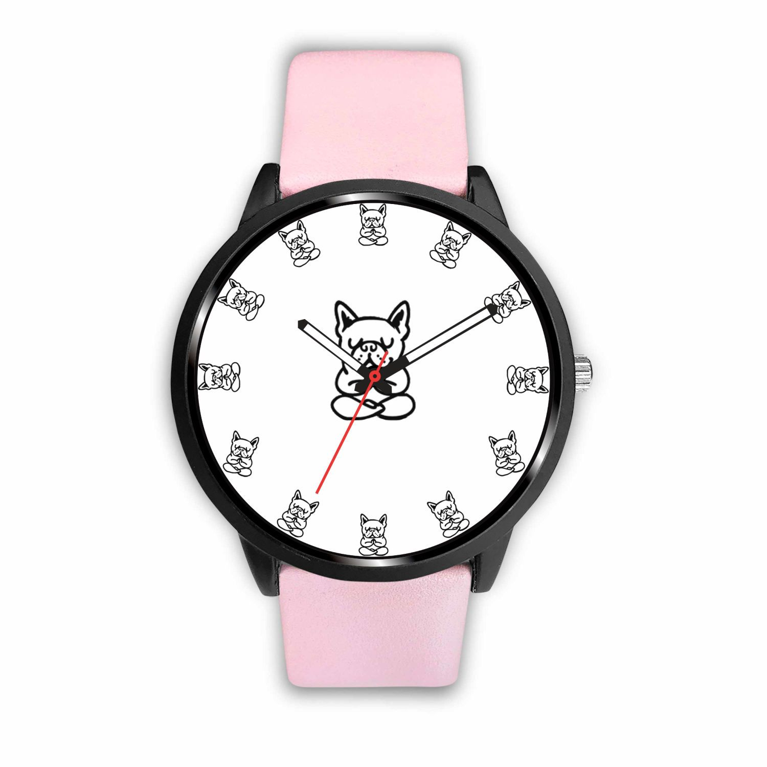 Frenchie Yoga - Watch - Frenchie Bulldog Shop